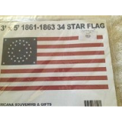 34 Star US (Circular Star) Flag