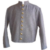 Gray Wool Fully-Lined ( 9 CSA Buttons )