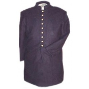 Frock, Navy-Blue wool, Single Breasted, 558B