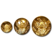 Brass Button Eagle